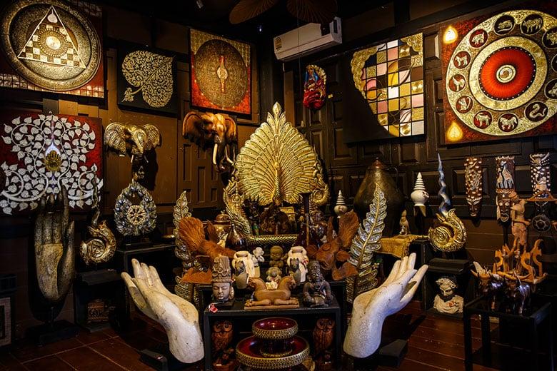Le Village des Artistes Baan Sillapin á Hua Hin