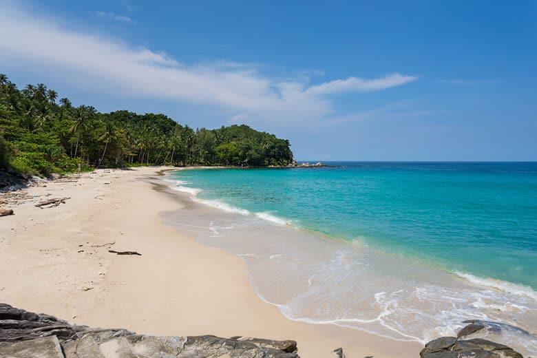 Plage de Freedom Beach á Phuket