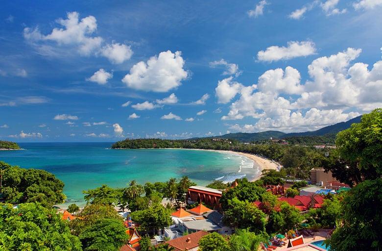 Plage de Kata Beach á Phuket