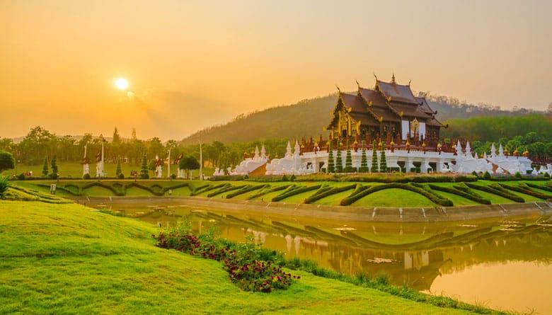 Royal Park Rajapruek á Chiang Mai