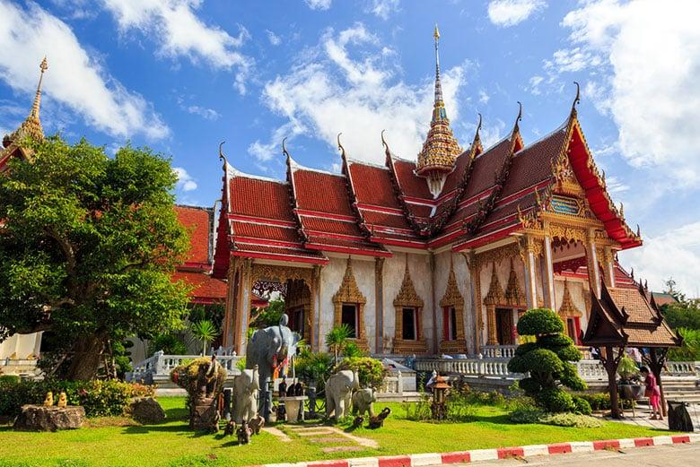 Wat Chalong á Phuket