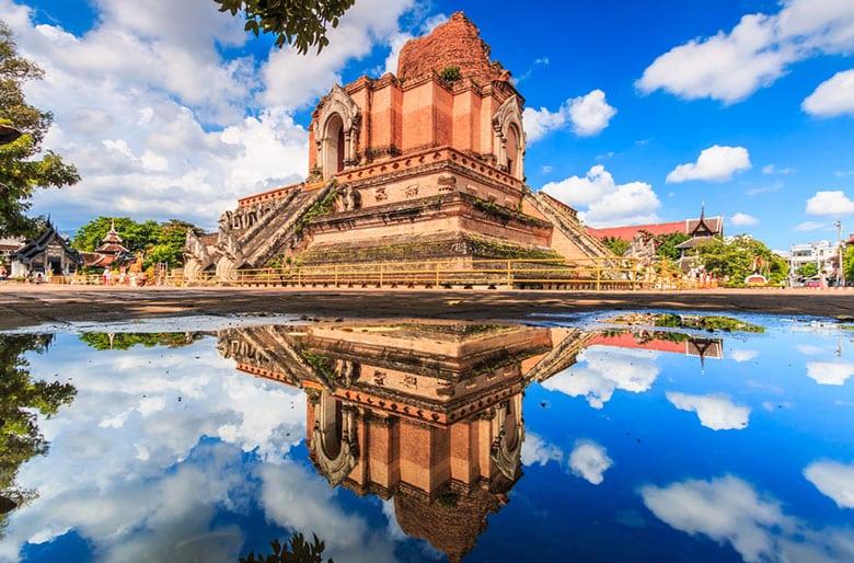 Wat Chedi Luang á Chiang Mai