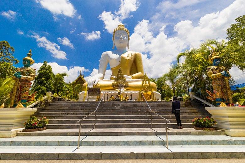 Wat Phra That Doi Kham (Temple de la Montagne dorée)