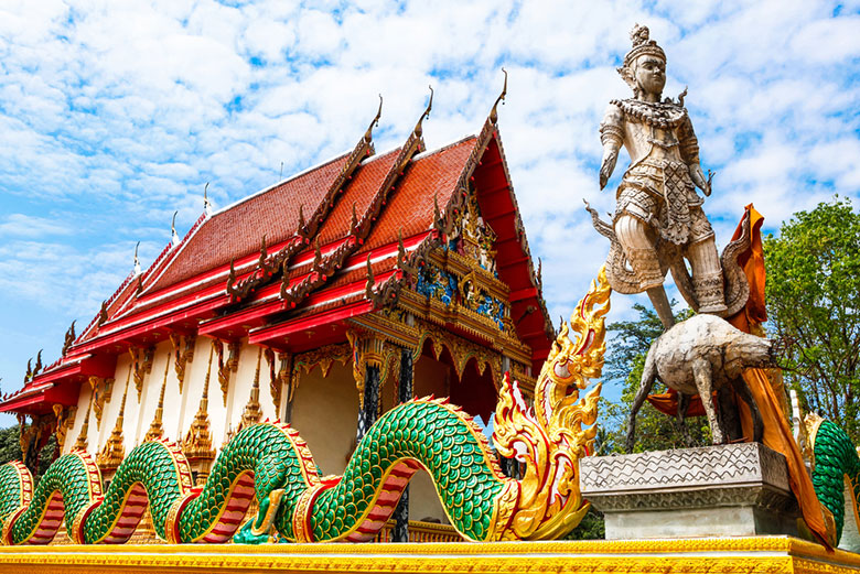 Le Temple Wat Salak Phet á Koh Chang