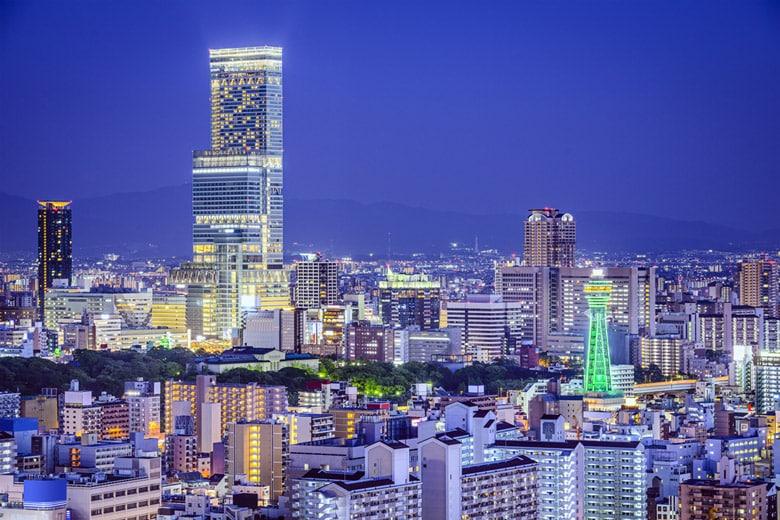 Abeno Harukas á Osaka