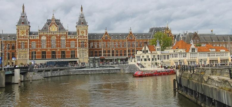 Une croisière sur les canaux d'Amsterdam