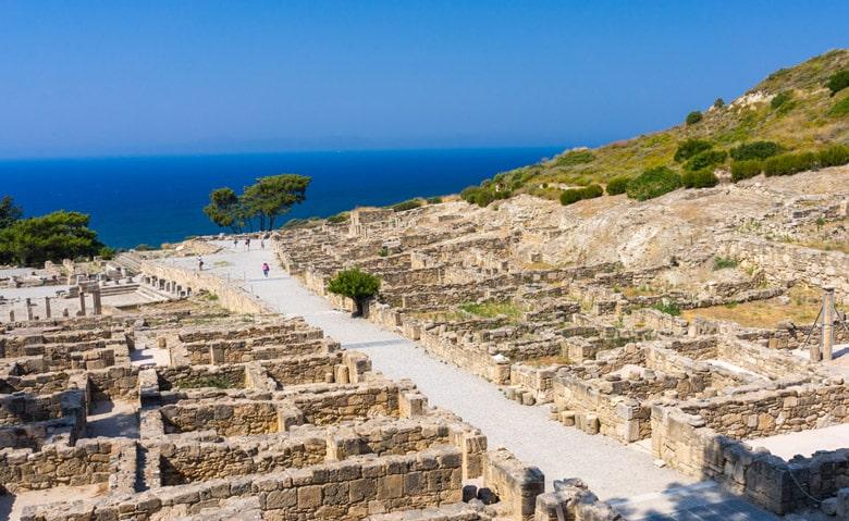 Le site antique de Kamiros á Rhdoes