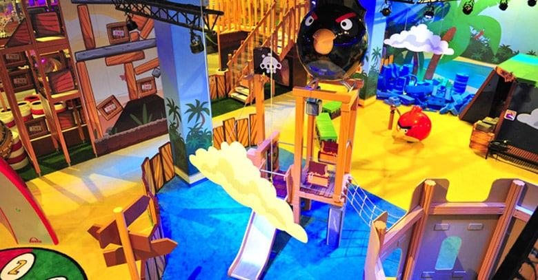 Le Parc d'activités Angry Birds