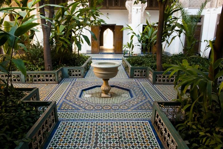 Le palais Bahia á Marrakech