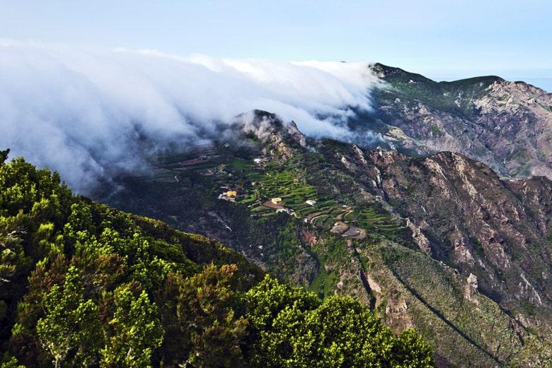 Vallée de Anaga á Tenerife