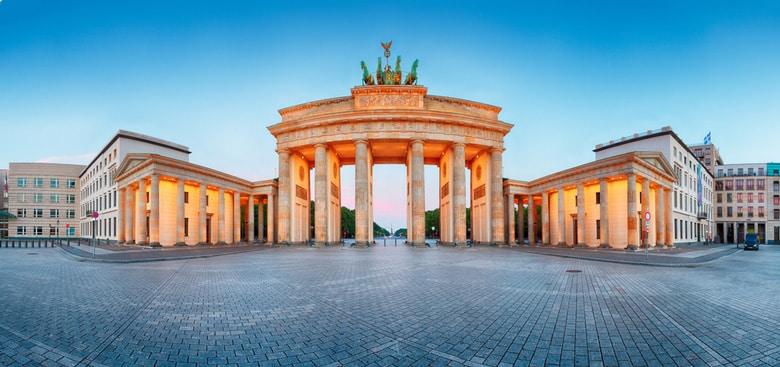 La porte de Brandebourg á Berlin