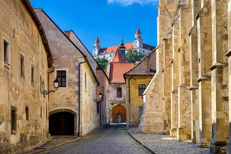 Old Town á Bratislava