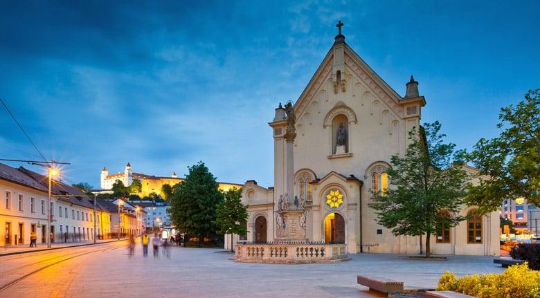 La vieille ville de Bratislava