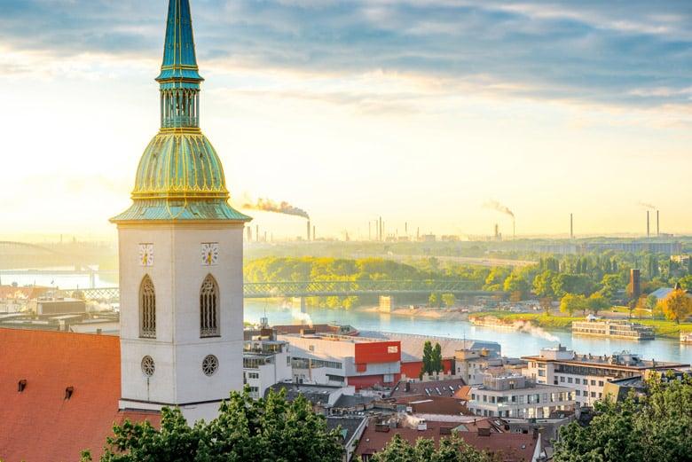 L'église Saint-Martin á Bratislava