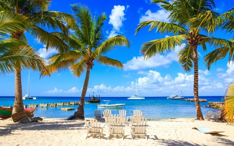 Plage exotique à Punta Cana