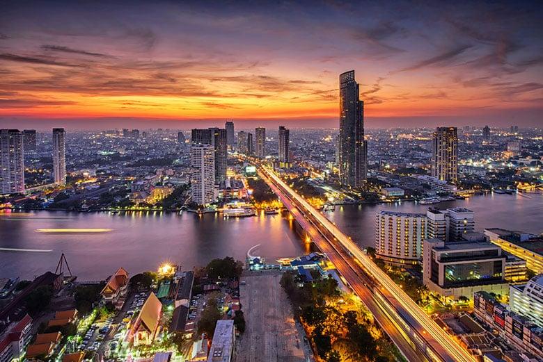 Chao Phraya á Bangkok