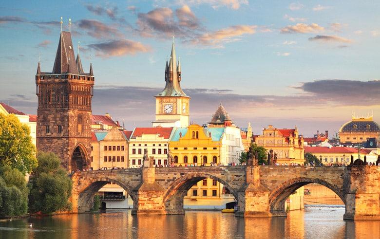 Le pont Charles á Prague