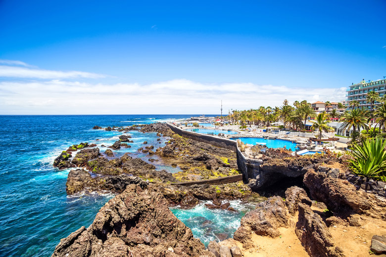 Costa Martianez á Tenerife