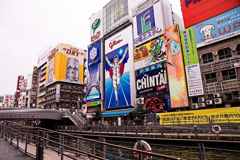 Dōtonbori á Osaka
