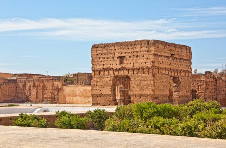 Le Palais El Badi á Marrakech