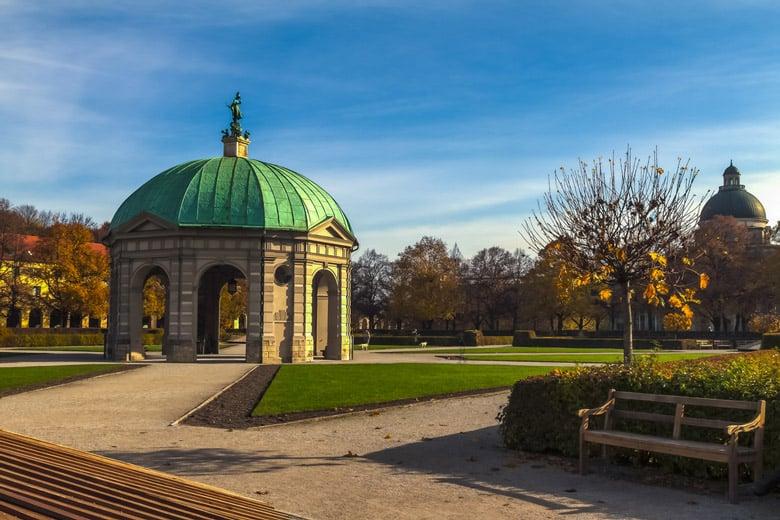 Le Jardin Anglais á Munich