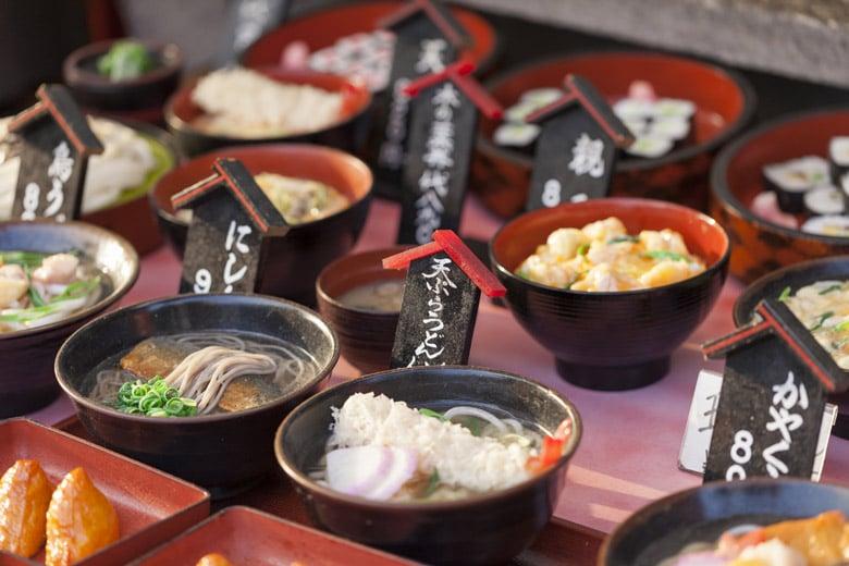 Food Market á Kyoto