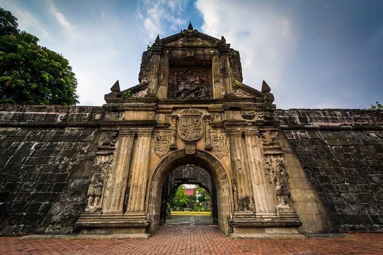 Le Fort Santiago á Manille