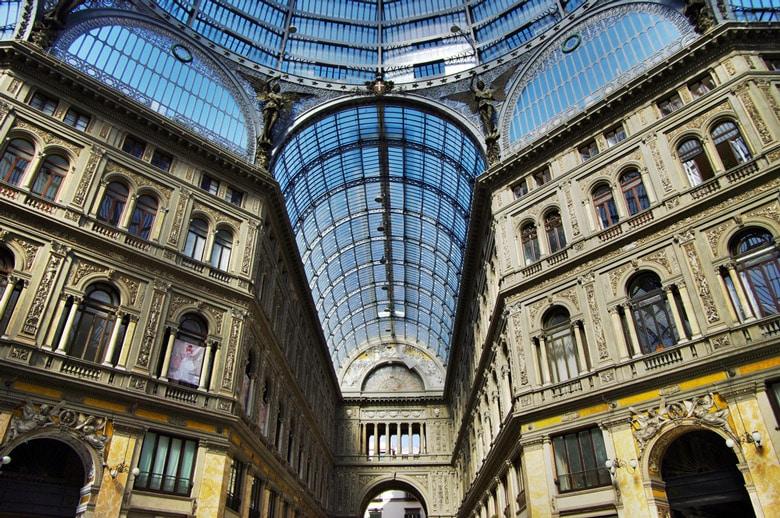 Galleria Vittorio Emanuele II á Naples