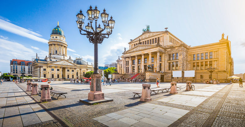 Gendarmenmarkt square á Berlin