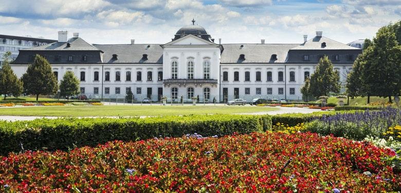 Le Palais Grassalkovich á Bratislava