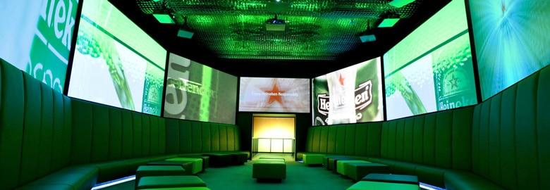 Experience Heineken á Amsterdam