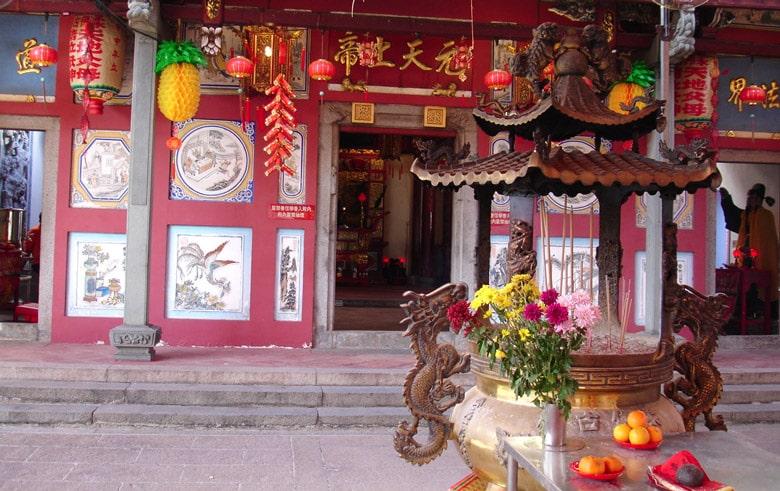 Le Vieux Temple Chinois de Johor