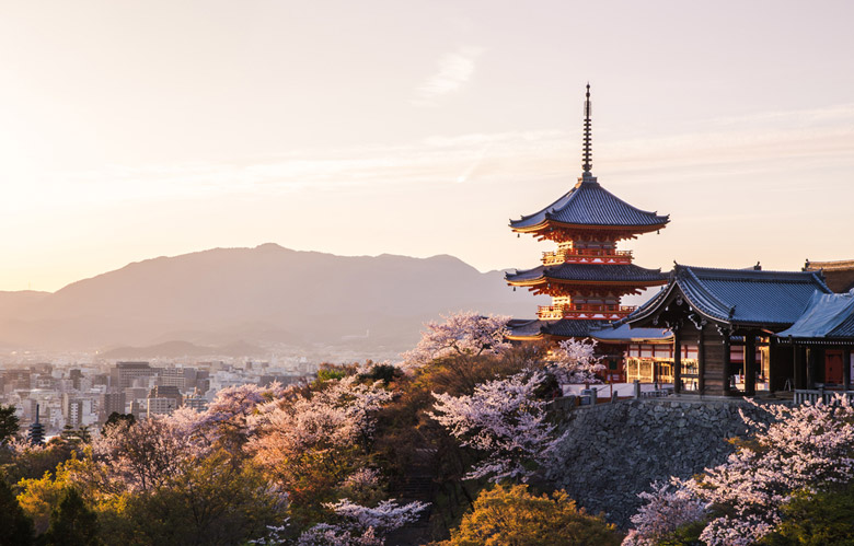 Le Temple Kiyomizu-dera á Kyoto
