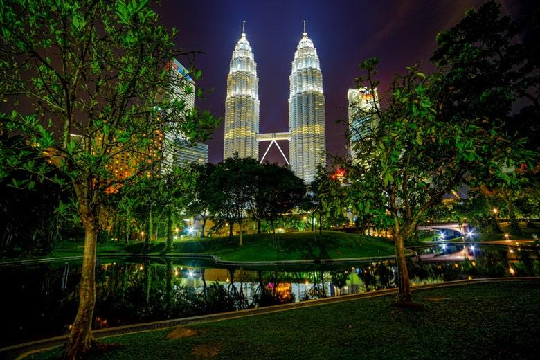 Le Kuala Lumpur City Centre (KLCC)