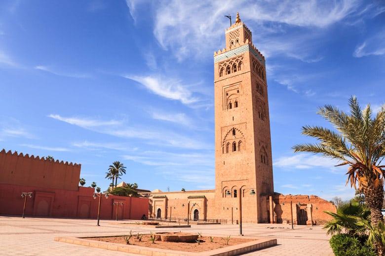 La mosquée Koutoubia á Marrakech
