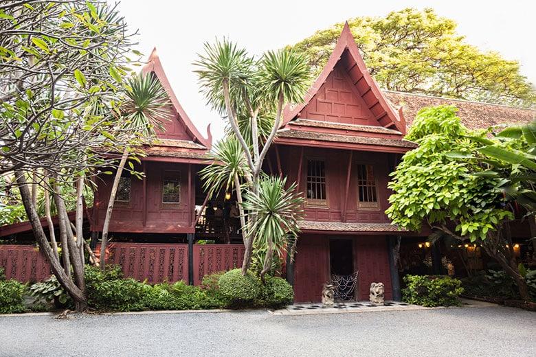 La maison de Jim Thompson á Bangkok