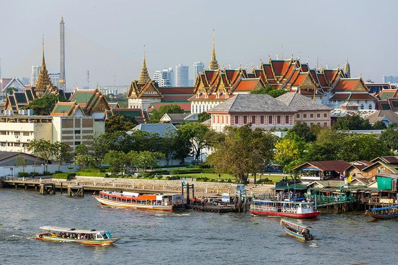 Le Grand Palais á Bangkok