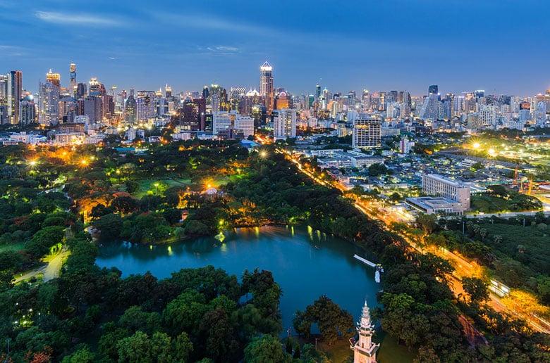 Le Parc Lumphini á Bangkok