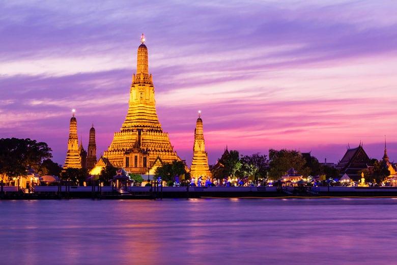 Le Temple de l'Aurore Wat Arun