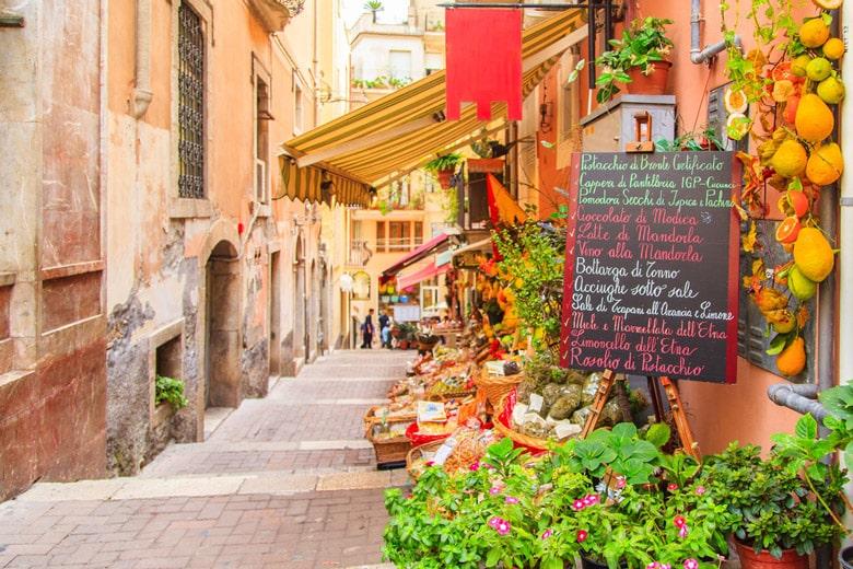 Taormina á Sicily