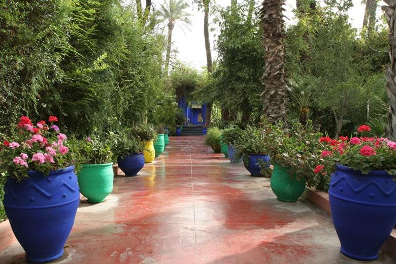 Le Jardin Majorelle á Marrakech