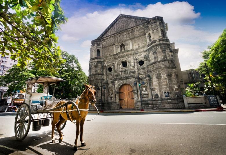Èglise Malate á Manille