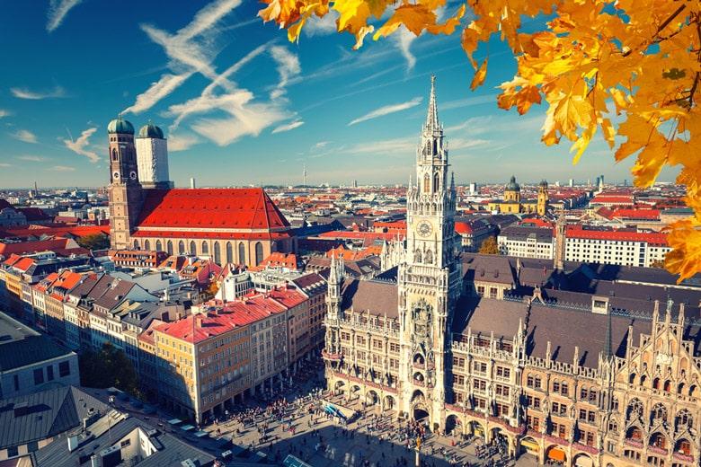 Marienplatz á Munich
