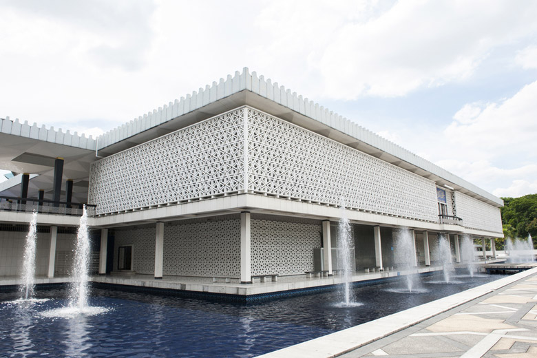 La Grande Mosquée (Masjid Negara) á Kuala Lumpur