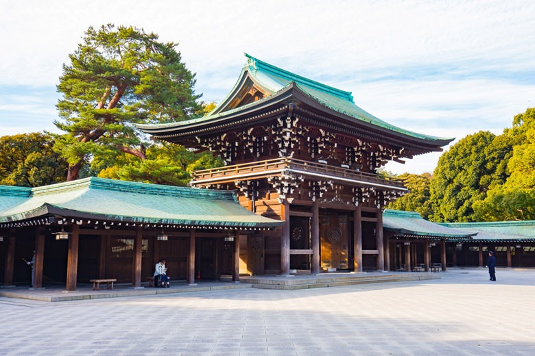Meiji Jingu á Tokyo