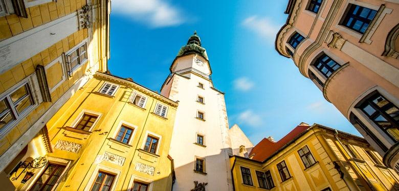 La Tour et la Porte Michel á Bratislava