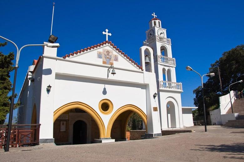 Le Monastère Tsambika á Rhodes