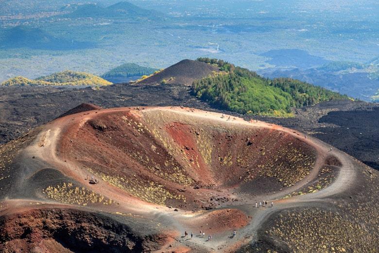 Mount Etna á Sicile