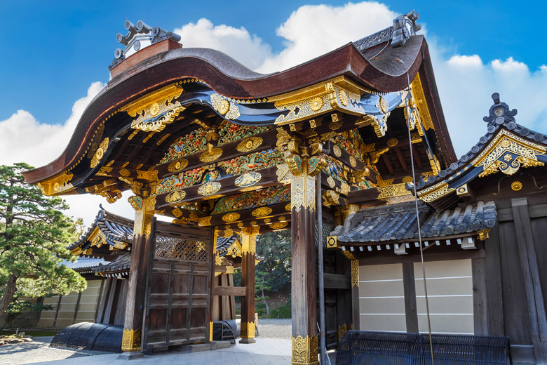 Le Château Nijo á Kyoto