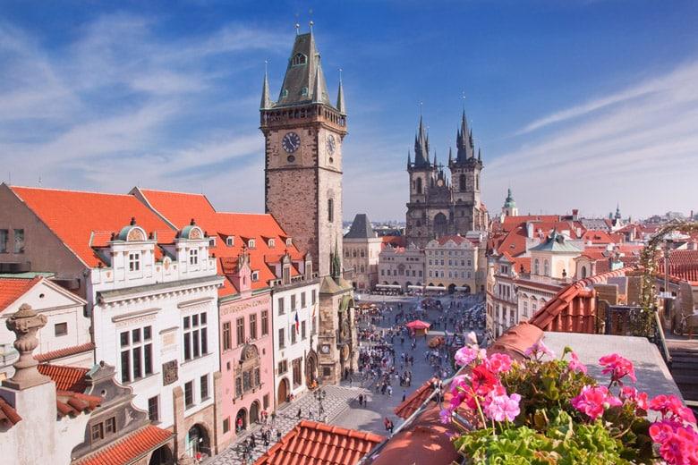 La Vieille Ville pragoise á Prague